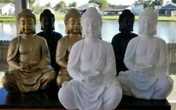 New Large Xl Meditating Buddha Statue Buddha Statue Candle Holder 24 In/outdoor