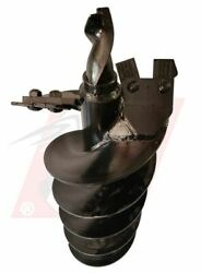 Auger Bit 12 Diameter For Dirt And Clay Fits 2 Hex Auger For Bobcat Machines
