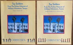 Toy Soldiers From The Forbes Museum Of Military Miniatures, 2 Auction Catalogs