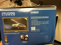 Phase Linear Uv8020 Am Fm Mp3 Cd/dvd Uv8020 Car Video Player Touch Display