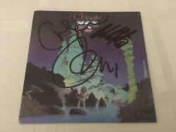 Yes Signed Classic Yes Cd X3 Jon Anderson Chris Squire Alan White Proof