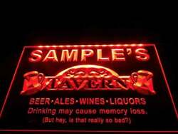Tavern Led Sign Personalized Name Bar Lights And Signs