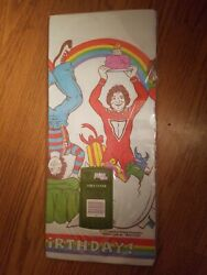 Vintage Mork From Ork Mork And Mindy Birthday Tablecloth Table Cover Nos 1979