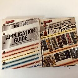Champ Parts Accessories Service And Merchandise Buyer's Guide Catalog Lot Of 2