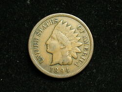 New Inventory Xf 1894 Indian Head Cent Penny W/ Diamonds And Full Liberty 132i