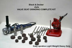 Black And Decker Style Valve Seat Grinding Complete Kit High Speed Grinder Dhl