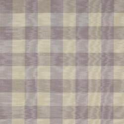 Colefax And Fowler French Country Checks Moire Fabric 10 Yards Lavender Cream