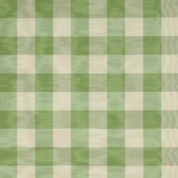 Colefax And Fowler French Country Checks Moire Fabric 10 Yards Sage Cream