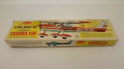 Guillows Flying Airplane Kit 309 Cessna 150 24 Rubber Band 1/4 A Gas Engine