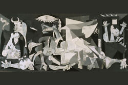 Picasso Guernica Art Wall Indoor Room Outdoor Poster POSTER 24x36