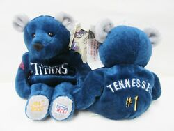 Salvino's Nfl Team Bammers Tennessee Titans 1 Bear - Brand New - Numbered