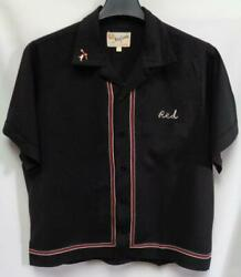King Louie by Holiday Vtg Bowling Shirt~Large~Fayette Tire Bad Guys