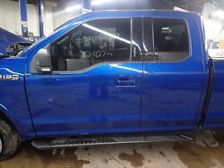 16 17 18 Ford F150 Bare Metal Truck Cab Extended Cab W/o Sunroof Blue N6