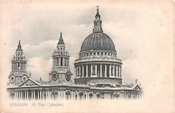 R248366 London St. Paul Cathedral. Printed In Saxony. Deyring Honnest London. 19