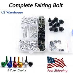 Complete Motorcycle Fairing Bolt Fasteners For Mv Agusta Brutale 675 2013-2015