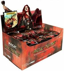 Box Magic The Gathering-relic Tokens Ultra Pro 36 Buste
