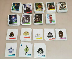 Big Lot 605 Card Leclerc Star Wars Stickers 1 With 88+ Letter With H Faire Offer