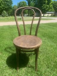 Antique Great Northern Chair Co. Chicago Bentwood Chair