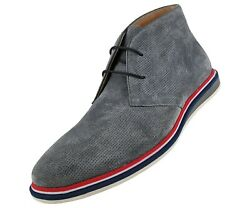 Mens Chukka Boots Genuine Cow Suede - Designer Boots - Casual Men Shoes