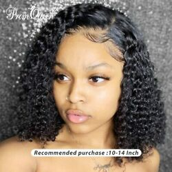 Jerry Curly Lace Front Human Hair Wigs With Baby Hair Brazilian Hair Us Stock