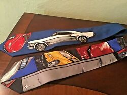 Neck Ties- Ford Motor Co authorized  - Mustang- pre owned set of 2