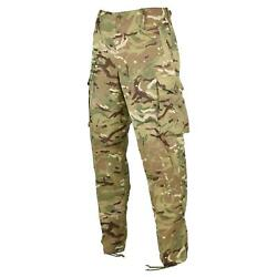 Genuine British Army Pants Military Combat Mtp Field Cargo Pants Windproof New