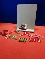 Lot Of 18 Pieces Of Cub And Boy Scout Pins And Patches
