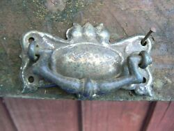 Antique Iron Dropped Handle For Wardrobe Drawer Cabinet Cupboard Small Bat