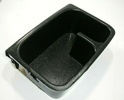 2002 05 04 03 Toyota Camry Center Console Cup Holder Storage Tray Black Oem