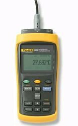 Fluke 1523 -156 Single Channel Reference Thermometer Readout Factory Sealed