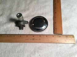 Vintage Auto Parts Delco Floor Dimmer Switch And Side Tank Gas Cap Misc