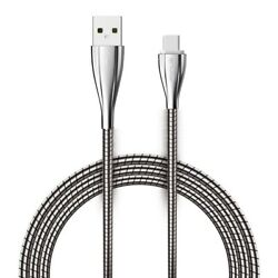 6ft Metal Usb Cable Type-c Charger Cord Power Wire Long Braided For Usb-c Phones