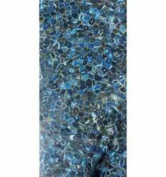 60 X 36 Marble Blue Agate Dining Table Top Semi Precious Stones Inlay