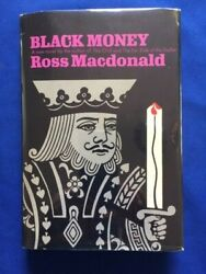 Black Money - First Edition By Ross Macdonald - A Lew Archer Novel