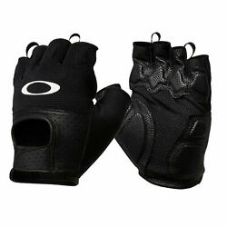 Oakley Factory Road Glove 2.0 Jet Black Size Medium Short Cycling Gloves $50.00