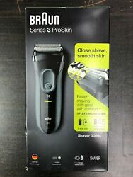 NEW Braun Series 3 ProSkin 3000s Electric Shaver for Men #2436