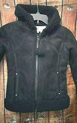 Girls Black- Hoodie Jacket Kc Collections Size- Small 5/6