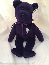 Princess Diana 1st Edition Beanie Baby Ghost Version Pvc Must Read
