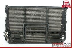 07-09 Mercedes W221 S450 S550 Cl550 Engine Cooling Radiator Ac A/c Condenser Oem