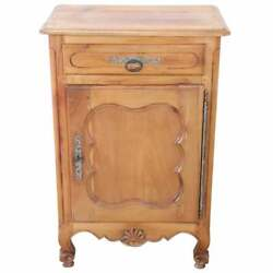 20th Century French Louis Xiv Style Cherry Small Sideboard Buffet Or Credenza