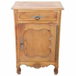 20th Century French Louis Xiv Style Cherry Small Sideboard, Buffet Or Credenza