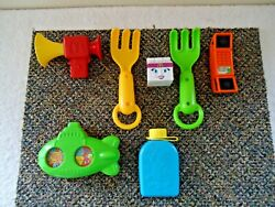 Vintage Mixed Lot Of 7 Happy Meal Toys From 1988 - 1993 Great Collectible Lot