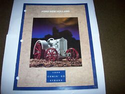 1990 Ertl Ford New Holland Tractor And Implement Toy Catalog