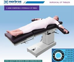 Ot Surgical Table Hydraulic Operating Table C-arm Compatible Operation Theater@
