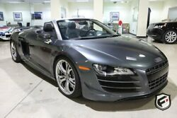 2012 Audi R8 2dr Conv Auto quattro Spyder 5.2L GT 2012 AUDI R8 SPYDER GT 2 OWNERS Southern California Car Regularly Serviced.