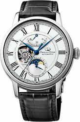 New Orient Star Mechanical Moon Phase Self-winding Rk-am0001s Menandrsquos Watch Japan