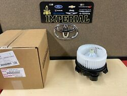 2005-2018 Toyota Avalon Genuine Oem New Blower Motor With Cage 871030e040