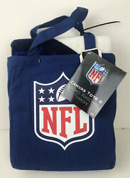 Nfl Canvas Tote And Micro Raschel Throw Blanket Denver Broncos Northwest Co New