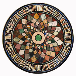 48 Marble Table Top Handmade Pietra Dura Work For Home Decor