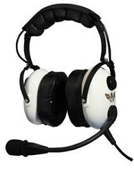 Avcomm Ac920 Pnr White Knight Headset With Cell Port Brand New Free Shipping